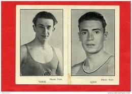 CALENDRIER 1944 JEAN TARIS NAGEUR SCUF NE A VERSAILLES GOIX SPORTIF COIFFEUR DE CHATEAUDUN - Petit Format : 1941-60