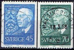 SWEDEN # FROM 1967 STAMPWORLD 596-97 - Sweden