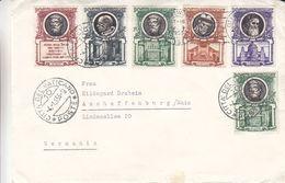 Papes - Vatican - Lettre De 1955 - Oblit Citta Del Vaticano - - Vatican