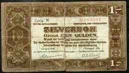Netherland,1920,1 Silverbon,P.15,as Scan - [2] 1815-… : Koninkrijk Der Verenigde Nederlanden