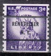 USA Precancel Vorausentwertung Preo, Bureau New York, Rensselaer 1057-71 - United States
