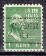 USA Precancel Vorausentwertung Preo, Locals New York, Rhinebeck 724 - Vereinigte Staaten