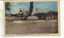 7. Pont Saint Esprit, Le Monument Aux Morts - Pont-Saint-Esprit