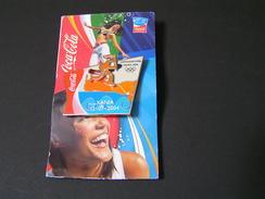 GREECE 2004 Coca Cola Flame Route XANIA.. - Pin-ups