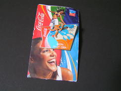 GREECE 2004 Coca Cola Flame Route DION.. - Pin-ups