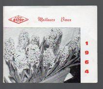 Calendrier 1964 GRAINES ECLOR (PPP6514) - Calendars