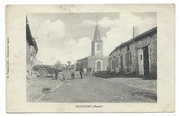 CPA - BROCOURT - Meuse 55 - Animée - Edit. M. Hussenet à Brabant En Argonne - Griffonnée Au Verso ( Crayon Papier) - France