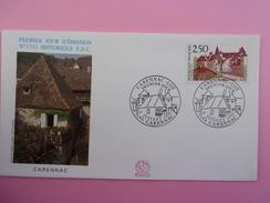 FRANCE FDC 1991 YVERT 2705 CARENNAC LOT - FDC