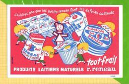 BUVARD & Blotting Paper : Produits Laitiers Naturels RENEAU   Fromage Yaourt - Dairy