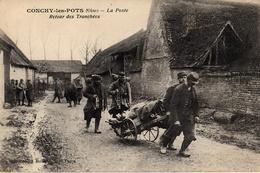 Thématiques 2018 Commémoration Fin De Guerre 1914 1918 Oise 60 Conchy Les Pots La Poste Retour Des Tranchées Vaguemestre - Guerre 1914-18