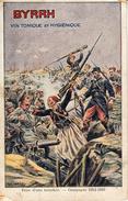 Thématiques 2018 Commémoration Fin De Guerre 1914 1918 Pub Byrrh Vin Prise D'une Tranchée Zouaves Et Poilus Corp A Corp - Guerra 1914-18