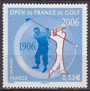 Timbre Neuf ** N° 3935(Yvert) France 2006 - Open De France De Golf - Unused Stamps