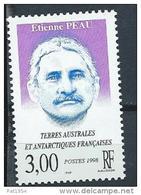 TAAF Neuf  N° 227 De 1998 Etienne Peau - Unused Stamps