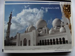 United Arabic Emirates Abu Dhabi Sheikh Zayed Mosque - Verenigde Arabische Emiraten