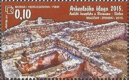 BHHB 2015-411 ARCHEOLOGY, BOSNA AND HERZEGOVINA HERCEGBOSNA(CROAT), 1 X 1v, MNH - Archéologie