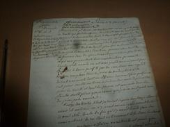 1817 A Mr Le Procureur Du ROI Pour Interpréter L'article 91, Car Il Faut Alléger Les Conséquences Insoutenables,etc - Manuscrits