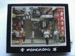 China Hongkong Central District Typical Street - China (Hongkong)