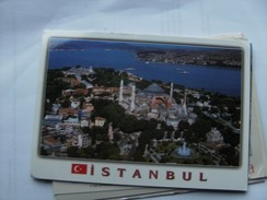 Turkije Turkey Istanbul The Haghia Sophia Museum And Topkapi Palace - Turkije