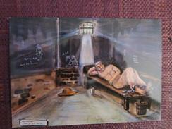 G1 - GUYANNE - Oeuvre Du Peintre Bagnard LAGRANGE - Au Cachot Avec Les Fers - Guyane