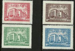 China 1946 Opening Of National Assembly Nanking Set Of 4 MNH - China