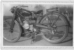 "247 ""MOTOGUZZI * GUZZINO* - 65 Cc.- 1949 ""  -  FOTO ORIGINALE  . - Photographs"