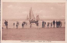CPA - FORT MAHON (Somme) - Départ Pour La Pêche - Fort Mahon