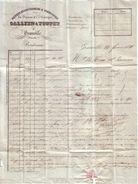 MANCHE - GRANVILLE - BANQUE , RECOUVREMENS & COMMISSION - GALLIEN TOUPET - LETTRE - 1840 - France