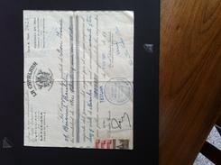 Maroc Espagnol - Marruecos - Tetouan 1943 - Recibo De Pago Con Sellos - Maroc Espagnol
