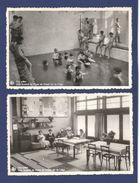 BELGIQUE / COQ-SUR-MER / Lot 4 CP / Colonie Scolaire Et École De Plein Air / Animées. - De Haan