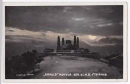 Alte Foto AK 1930'  Slowakei   Bradlo Mohyla Gen Dr. M.R. Stefanika Senice - Slowakei