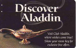 USA Casino Card,  Aladdin Club Las Vegas, Planet Hollywood Resort & Casino, Magnetic Card - Cartes De Casino