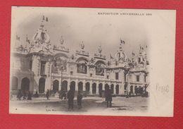 Paris  -- Expo Universelle 1900  --les Manufactures Nationales - Expositions