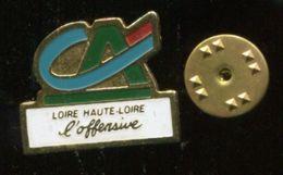 Pin's - Credit Agricole Loire Haute Loire Banque - Banks
