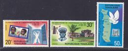 TOGO N°  658 à 660 ** MNH Neufs Sans Charnière, TB  (D3811) Anniversaire De L'indépendance - Togo (1960-...)