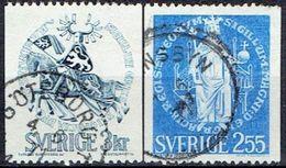 SWEDEN # FROM 1970 STAMPWORLD 674-75 - Oblitérés