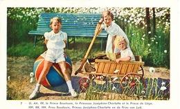 022/26 - Carte Illustrée Famille Royale No 7 - Utilisée à OOSTENDE 1937 - Excellent Etat - SBEP 120 EUR. - Ganzsachen