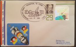 - US - HOLOGRAMME - SPACELAB D2 (8061) - FDC & Commemoratives