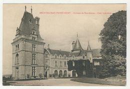88 - Neufchâteau-Frébécourt        Château De Bourlémont  -  Cour Interieure - Neufchateau