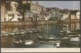 Wharf Road, The Harbour, St Ives, Cornwall, C.1960 - Jarrold Postcard - St.Ives