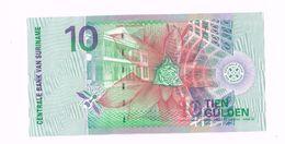Billet De 10 Gulden Neuf. Uncirculated. - Surinam