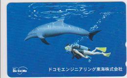 JAPAN - FREECARDS-1572 - 290-47516 - DOLPHINE - Japan