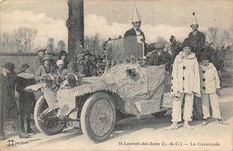 SAINT LAURENT DES EAUX - La Cavalcade - Automobile - Autres Communes