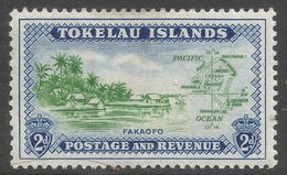 Tokelau Islands. 1948 Definitives 2d MH. SG 3 - Tokelau