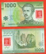 Chile 2012.Banknote 1000 Pesos 2012. Plastic. UNC. - Chile