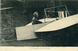 CROIX - D'HINS L'Accident Mortel De DELAGRANGE 4 Janvier 1910 (Delagrangedans Son Hangar ) - France