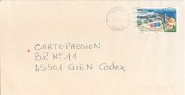 Enveloppe Du 26 Décembre 1989 De Caen Pour  Gien - France