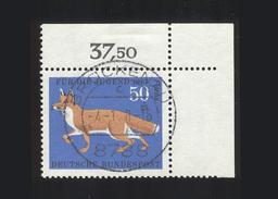 BRD 1967, Michel-Nr. 532, Jugend 1967, 50 Pf., Eckrand Oben Rechts, Gestempelt, Siehe Foto - BRD
