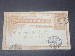 CONGO BELGE - Entier Postal Pour La France En 1907 - L 10968 - Entiers Postaux