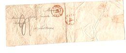 BMI(LAC) C.Ypres 12/8/1845 Pour Lessines C.d'arrivée Port 4 PR5090 - 1830-1849 (Belgique Indépendante)