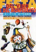 VINO-CASALE MONFERRATO-FESTA DEL VINO E DEL MONFERRATO-1998 - Fiere